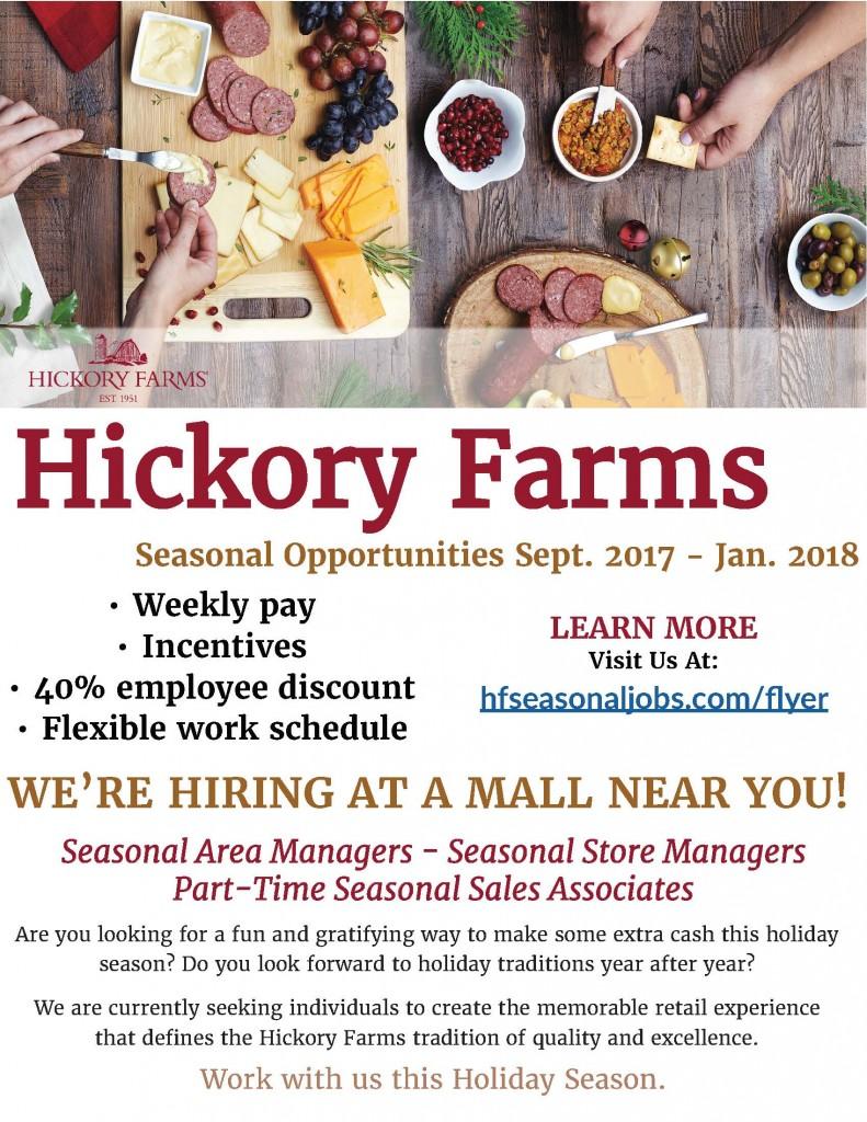 Hickory Farms ad
