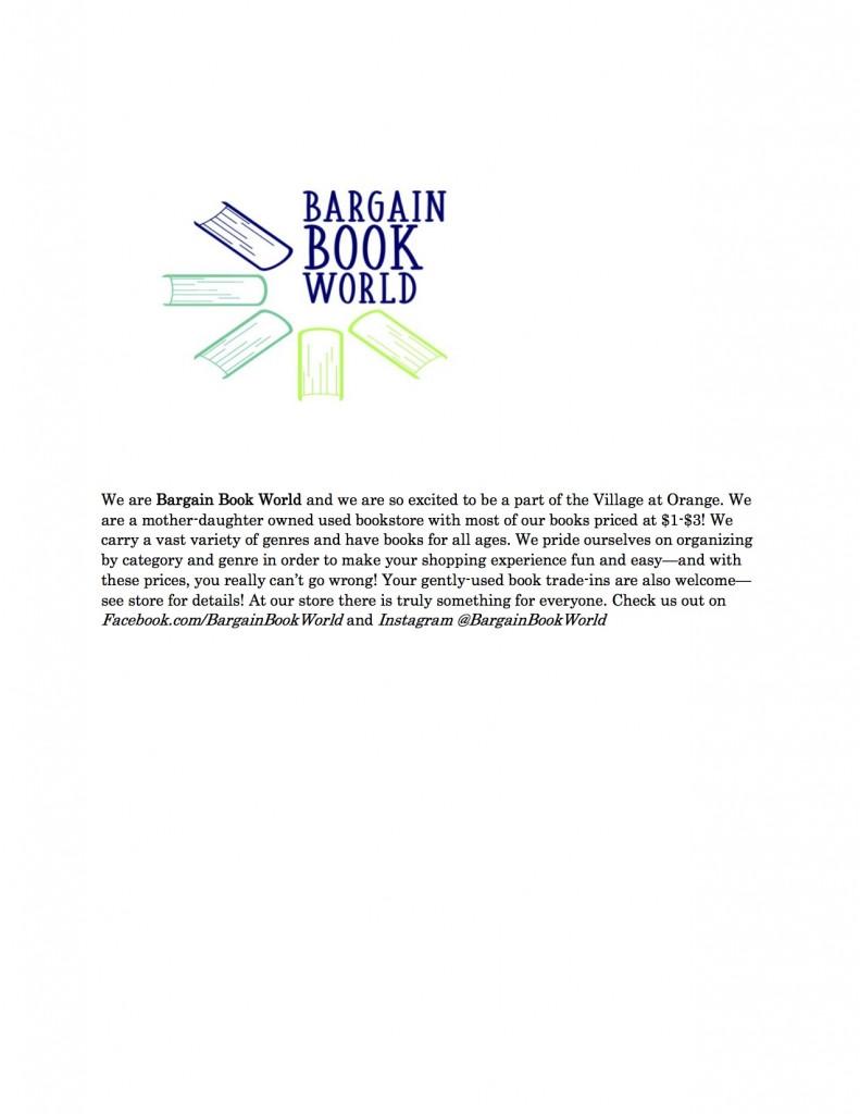 Bargain Book World VAO1