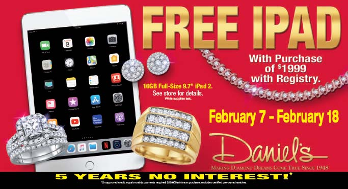 Happy Valentine's Day From Daniel's Jewelers