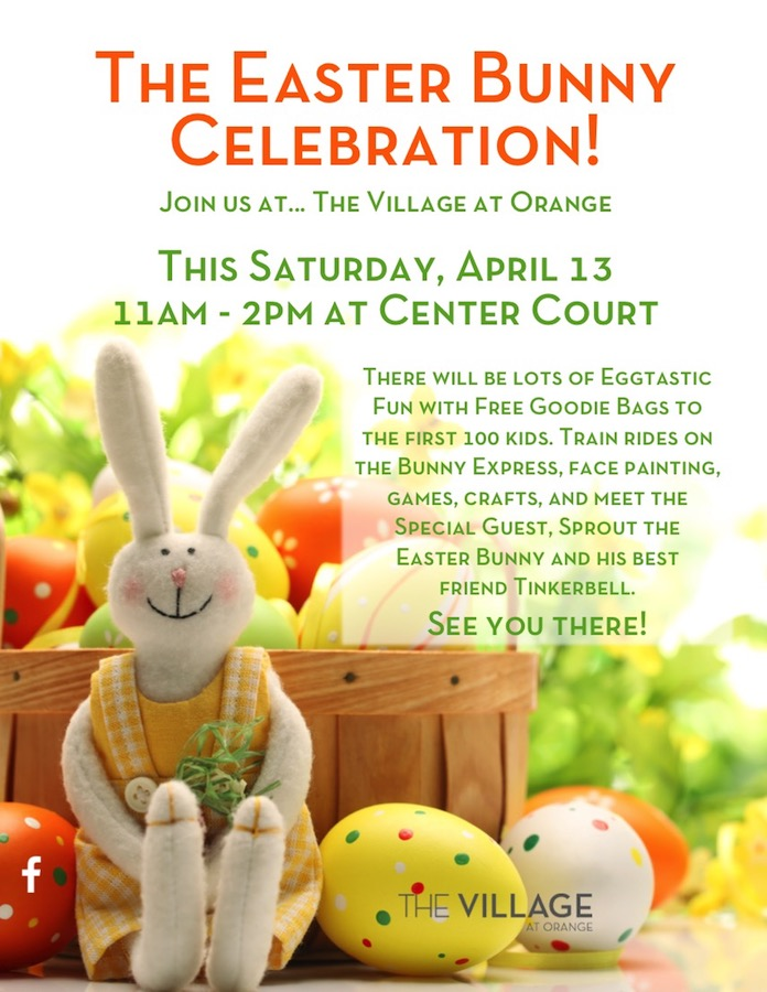 Easter Bunny Celebration this Saturday!