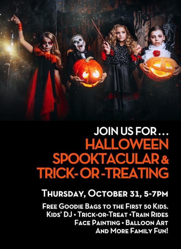 Halloween Spooktacular & Trick-or-Treating!