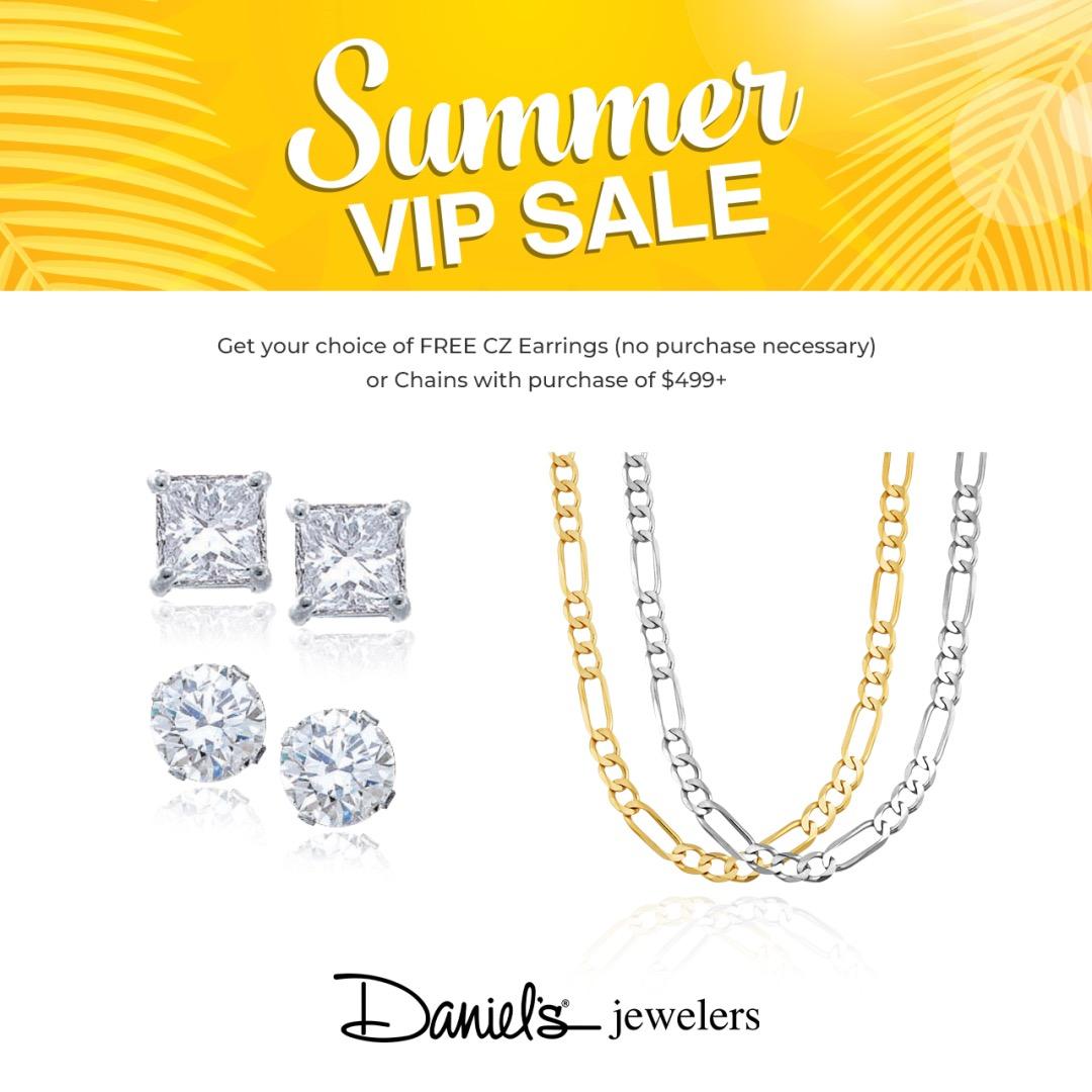 Daniel's Jewelers Summer VIP SALE!