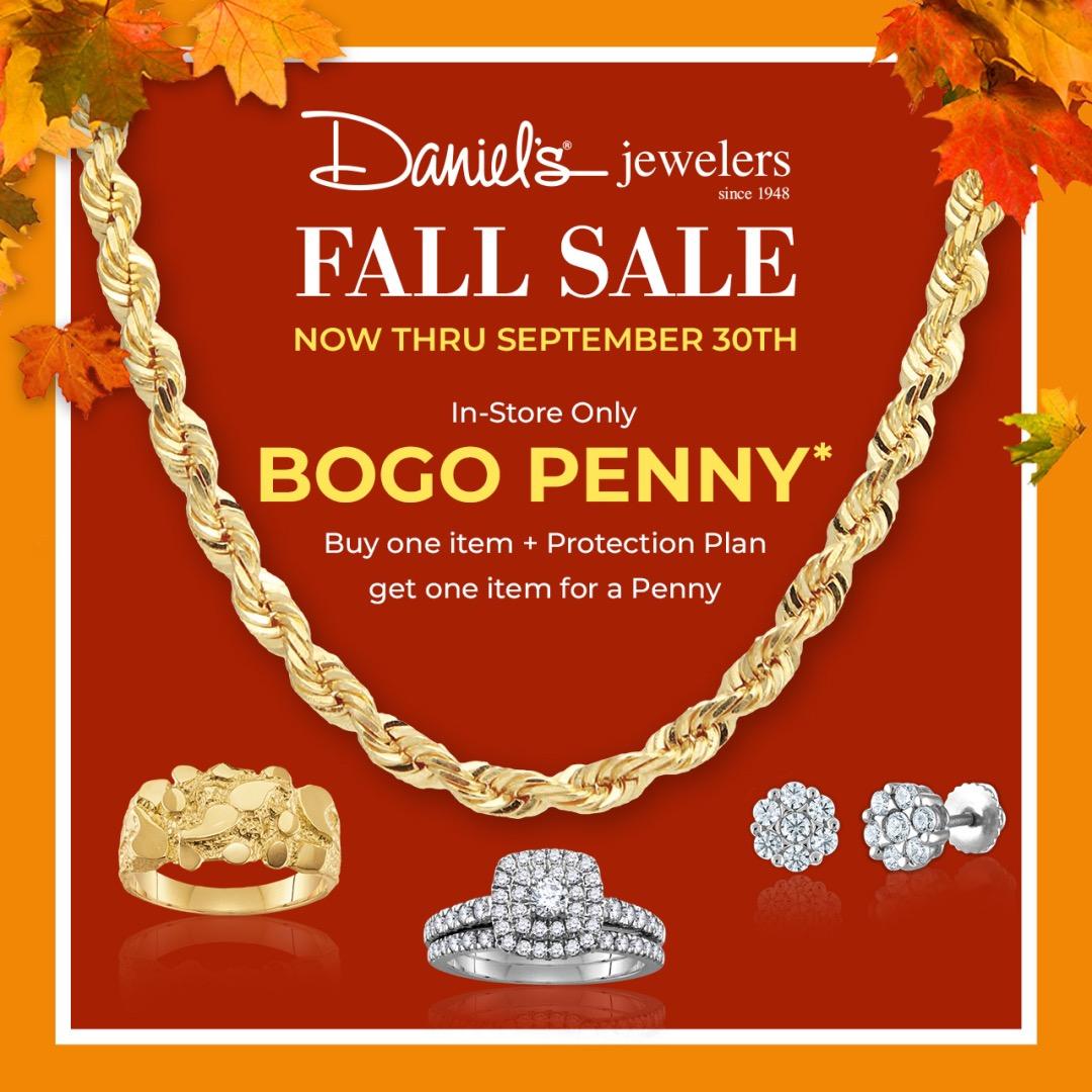 Daniel's Jewelers Fall Sale